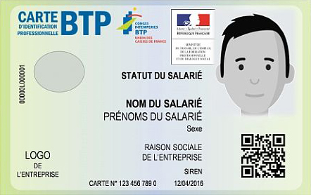 Carte BTP 2017